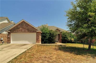 Round Rock Single Family Home For Sale: 3927 Links Ln