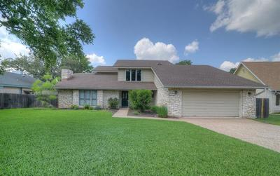 Travis County, Williamson County Single Family Home Pending - Taking Backups: 9506 Topridge Dr