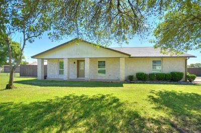 Round Rock Single Family Home For Sale: 3 Kim Cv