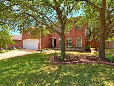 Cedar Park Single Family Home For Sale: 1104 Cedar Crest Dr