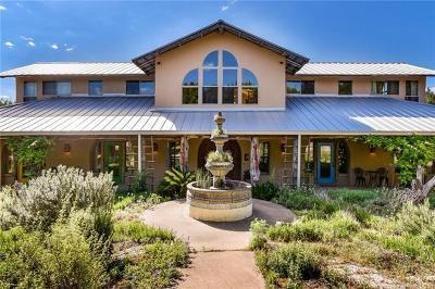 Original City Of Austin, Original City, Original Town Of Buda, Original Town Of Kyle, Boerne, Boerne Original Town, Lakeway, Silliman Single Family Home For Sale: 16609 Flintrock Rd