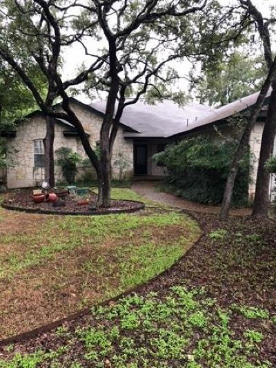 Wimberley TX Single Family Home Pending - Taking Backups: $350,000