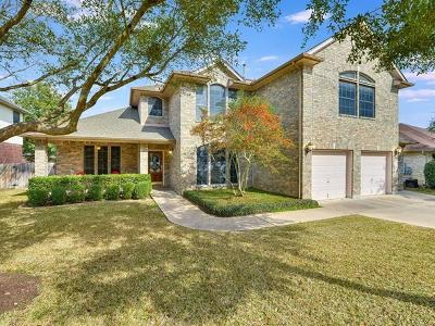 Cedar Park Single Family Home For Sale: 1811 Cattle Dr
