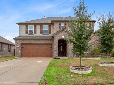 Leander Single Family Home For Sale: 1520 Bovina Dr