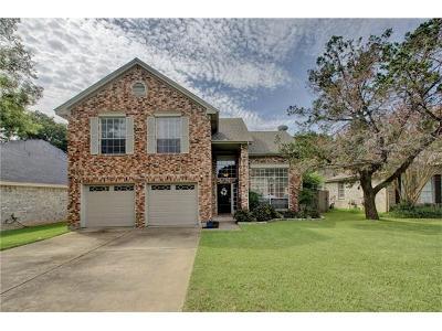 Cedar Park Single Family Home For Sale: 1205 Meadow Lark Dr