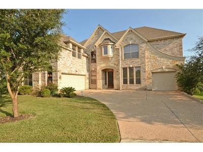 Round Rock TX Single Family Home For Sale: $448,900