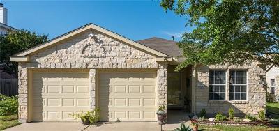 Pflugerville Single Family Home Pending - Taking Backups: 824 Twisted Fence Dr