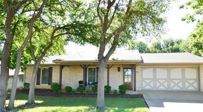 Salado Single Family Home Pending - Taking Backups: 1502 Guess Dr