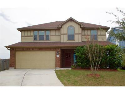 San Marcos Single Family Home For Sale: 105 Old Settlers Dr