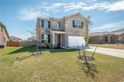 Round Rock TX Single Family Home For Sale: $334,900