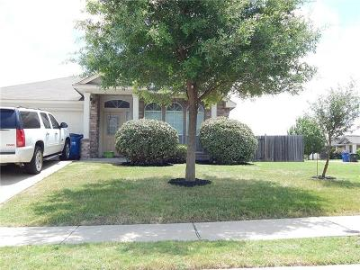 Hutto Single Family Home For Sale: 343 Altamont