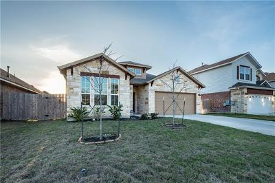 Round Rock Single Family Home For Sale: 8008 Bassano Dr