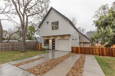 Austin Single Family Home For Sale: 4608 Santa Anna St #1