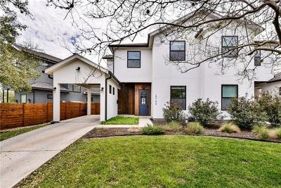 Austin Single Family Home For Sale: 2310 S 3rd St #A