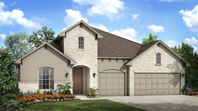 Round Rock Single Family Home For Sale: 2543 Palazzo Est