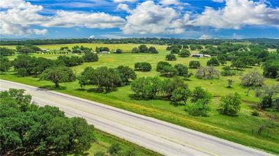 Burnet County, Lampasas County, Bell County, Williamson County, llano, Blanco County, Mills County, Hamilton County, San Saba County, Coryell County Farm For Sale: 9437 Us Highway 290