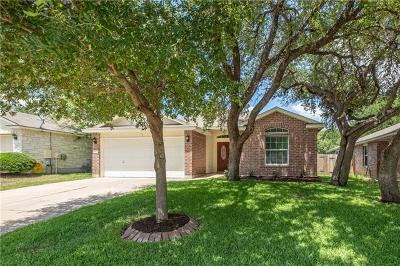 Round Rock Single Family Home For Sale: 3625 Spring Canyon Trl