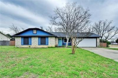 Cedar Park Single Family Home Pending - Taking Backups: 506 S Mount Rushmore Dr