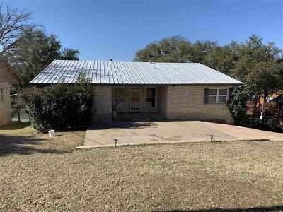 Burnet TX Single Family Home For Sale: $545,000