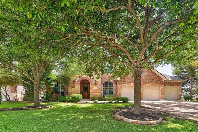 Round Rock Single Family Home For Sale: 808 Hidden Glen Dr