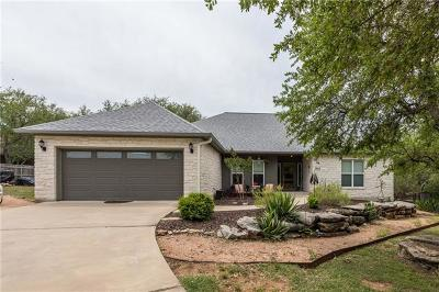 Marble Falls Single Family Home For Sale: 1004 Madison Cir
