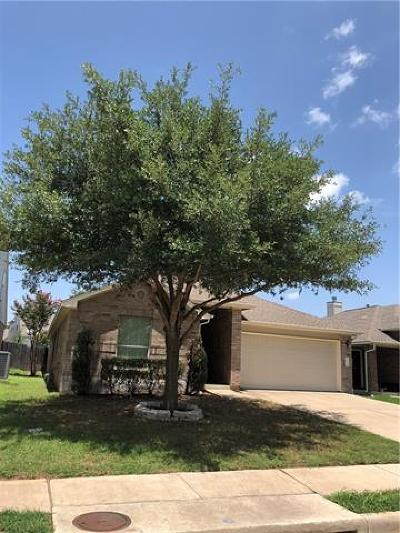 Leander Single Family Home For Sale: 1207 Alpine Mountain Dr