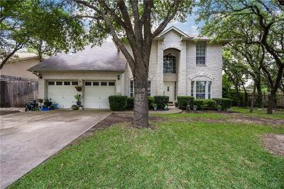 Cedar Park Single Family Home For Sale: 2902 Oakwood Glen Dr