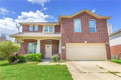 Pflugerville Single Family Home For Sale: 20516 Farm Pond Ln