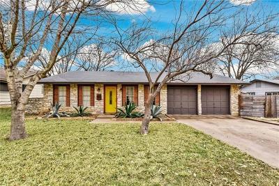 Austin Single Family Home For Sale: 8405 Staunton Dr