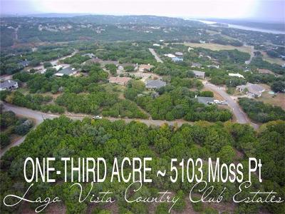 Lago Vista TX Residential Lots & Land For Sale: $9,995