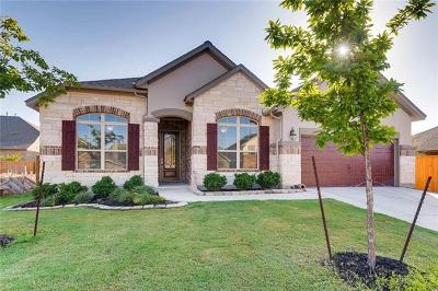 Round Rock Single Family Home For Sale: 3820 Ashbury Rd