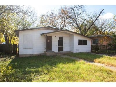 Travis County Single Family Home Pending - Taking Backups: 411 W Odell St