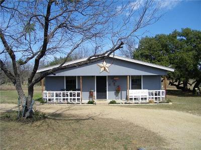 Burnet County Single Family Home Pending - Taking Backups: 137 E Maple Dr
