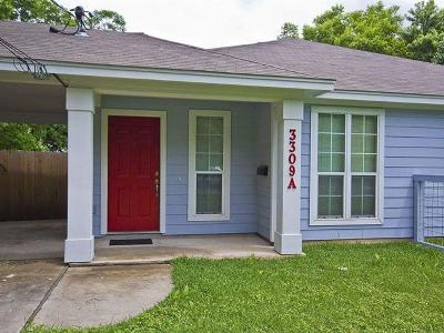 Austin Rental For Rent: 3309 Robinson Ave #A