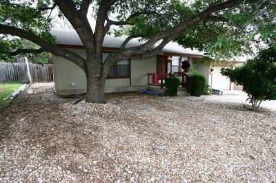 Jonestown Single Family Home For Sale: 10709 Laurel Ln