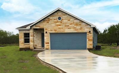 Cedar Creek TX Single Family Home For Sale: $279,900