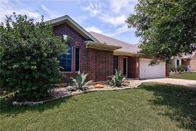 Round Rock Single Family Home For Sale: 4310 Indian Oaks