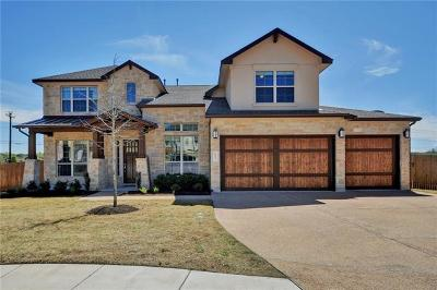 Cedar Park Single Family Home Pending - Taking Backups: 617 Raging River Rd