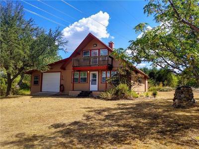 Burnet County Single Family Home For Sale: 4909 W Fm 2147