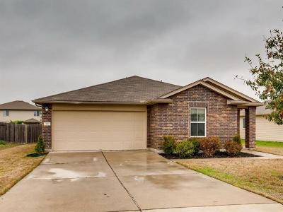 Hutto Single Family Home Pending - Taking Backups: 306 San Antonio Riverwalk