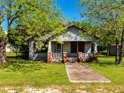 Buda Single Family Home For Sale: 217 Railroad St