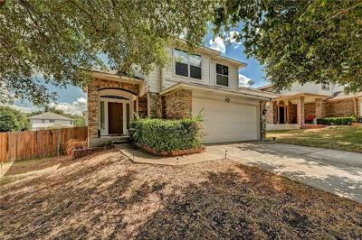 Round Rock Single Family Home For Sale: 1609 Plume Grass Pl