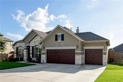 Round Rock Single Family Home Pending - Taking Backups: 2904 San Milan Pass