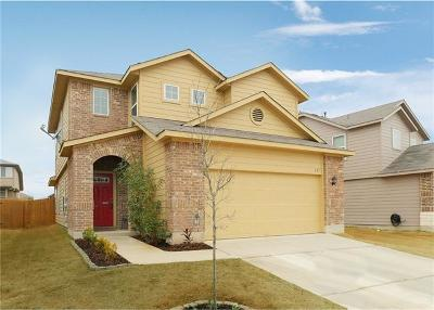 San Marcos Single Family Home For Sale: 221 Tallow Trl