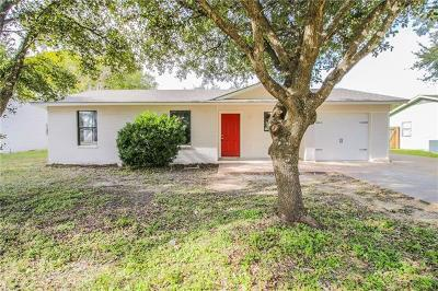Taylor Single Family Home For Sale: 1806 Old Coupland Rd