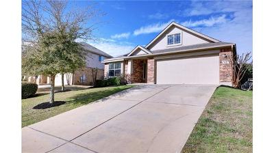 Pflugerville Single Family Home For Sale: 1908 Tranquility Ln
