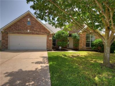 Round Rock Single Family Home For Sale: 1515 Foppiano Loop
