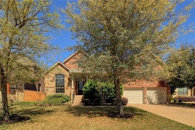 Round Rock Single Family Home For Sale: 3532 Alexandrite