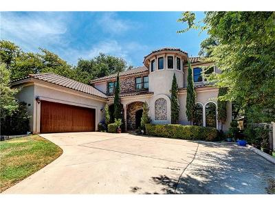 Austin Single Family Home Active Contingent: 2621 Exposition Blvd