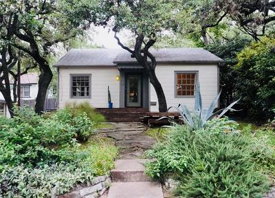 Austin Single Family Home For Sale: 1110 Mission Rdg